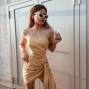 Citrus Wrap Dress by Sabo Skirt